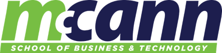 McCann School of Business & Technology - Online Logo